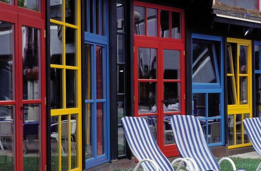 Colores de ventanas de PVC