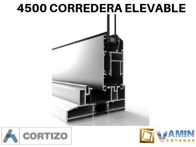 4500 Corredera Elevable Vamin