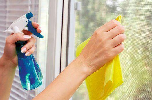 ¿Como cuidar las ventanas de PVC?