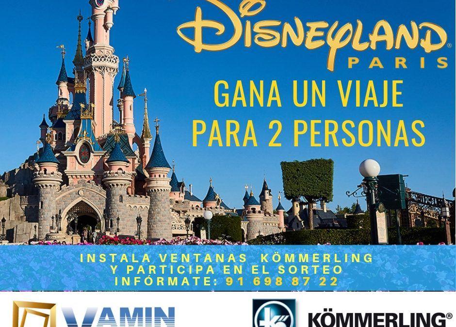 Gana un Viaje a Disney Land