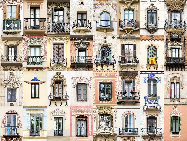 Ventanas bonitas Barcelona