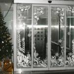 Nieve decoracion ventanas