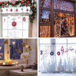 ¿Como decorar ventanas de Navidad?