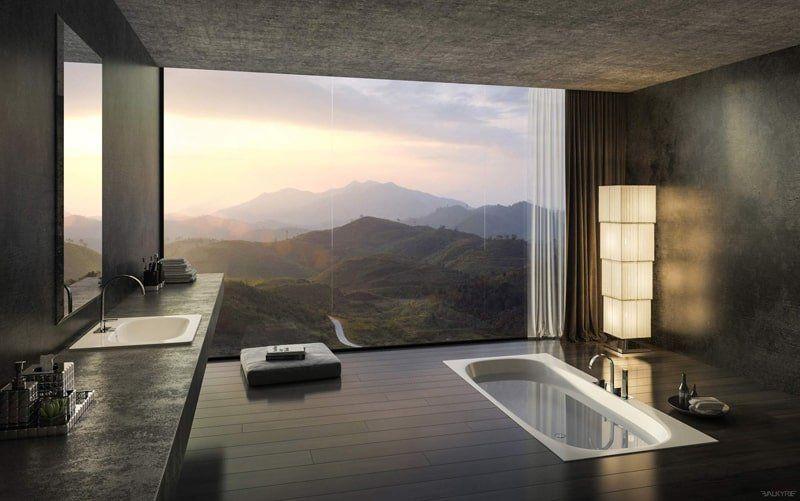 Instalar Ventanas Panoramicas en el Baño