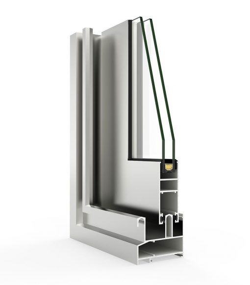Imagen Ventana aluminio con sistema 2000 Corredera Perimetral