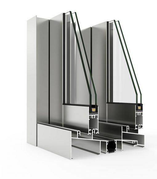 Imagen de Ventana Aluminio Cortizo con sistema 5000 Corredera