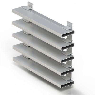 Imagen de Celosías-Lamas decorativas de Aluminio Cortizo