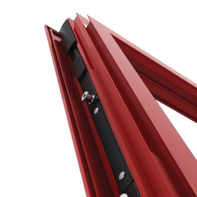 Imagen ventana aluminio con Herraje Evo Security