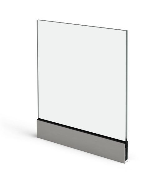 Imagen de Barandilla View Crystal de Aluminios Cortizo
