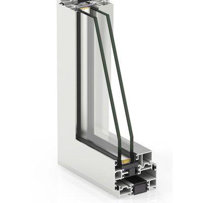 Sistema Casement Cortizo de ventana de aluminio