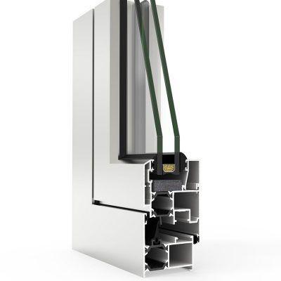 Ventana de Aluminio con Sistema Cortizo COR 3500 C16 ST RPT