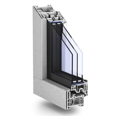 Corte Ventana con sistema 76MD Zero de Kömmerling