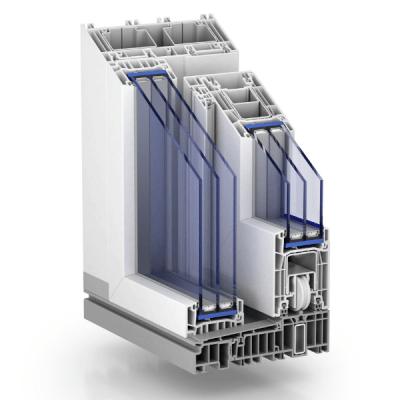 Corte Ventana con sistema PremiDoor 76