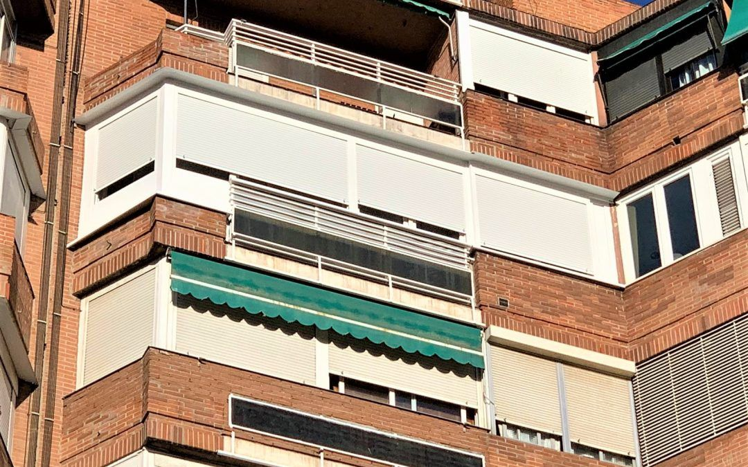 Cerramiento terraza Madrid